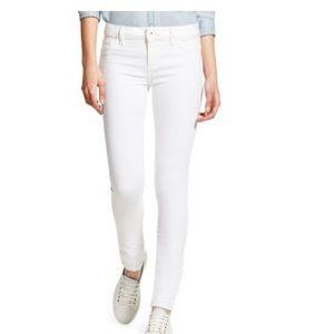 DL1961 Florence Instasculpt White Skinny Jeans